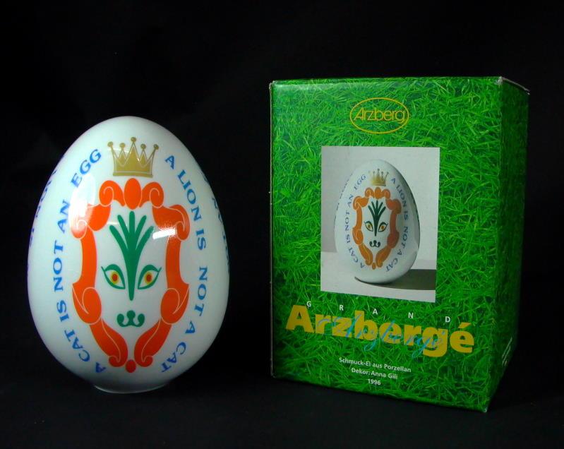 Osterei objekt 1996 karton arzberg ebay for Dekor international pt