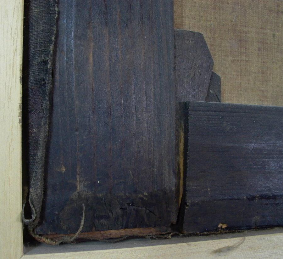 antikes gem lde 1865 kinder l auf leinwand 93cm x. Black Bedroom Furniture Sets. Home Design Ideas