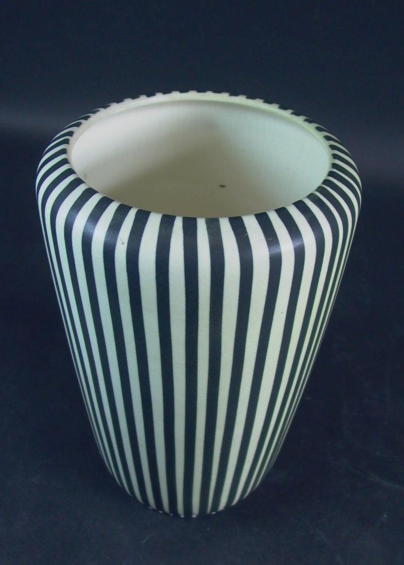 villeroy boch lilo vase schwarz weiss ebay. Black Bedroom Furniture Sets. Home Design Ideas