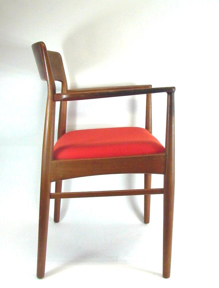 design stuhl 60er jahre k s made in denmark ebay. Black Bedroom Furniture Sets. Home Design Ideas