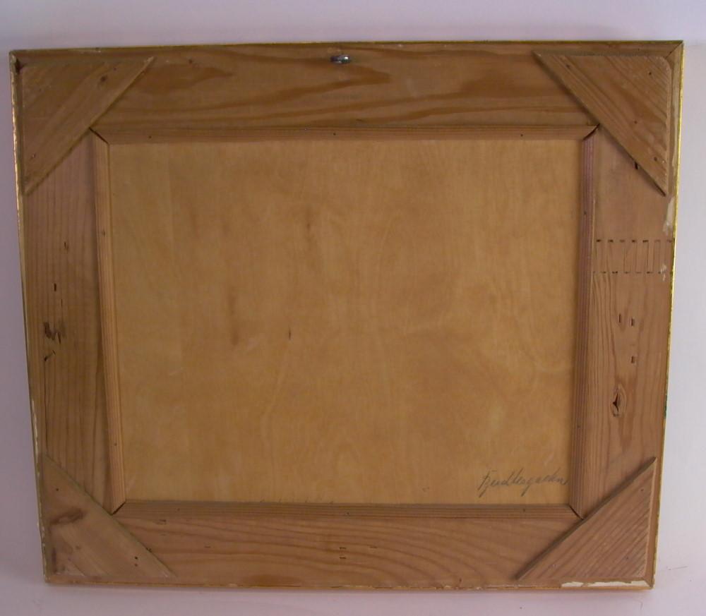 nikolaus gumberger 1822 1898 berchtesgaden mit watzmann l auf holz ebay. Black Bedroom Furniture Sets. Home Design Ideas